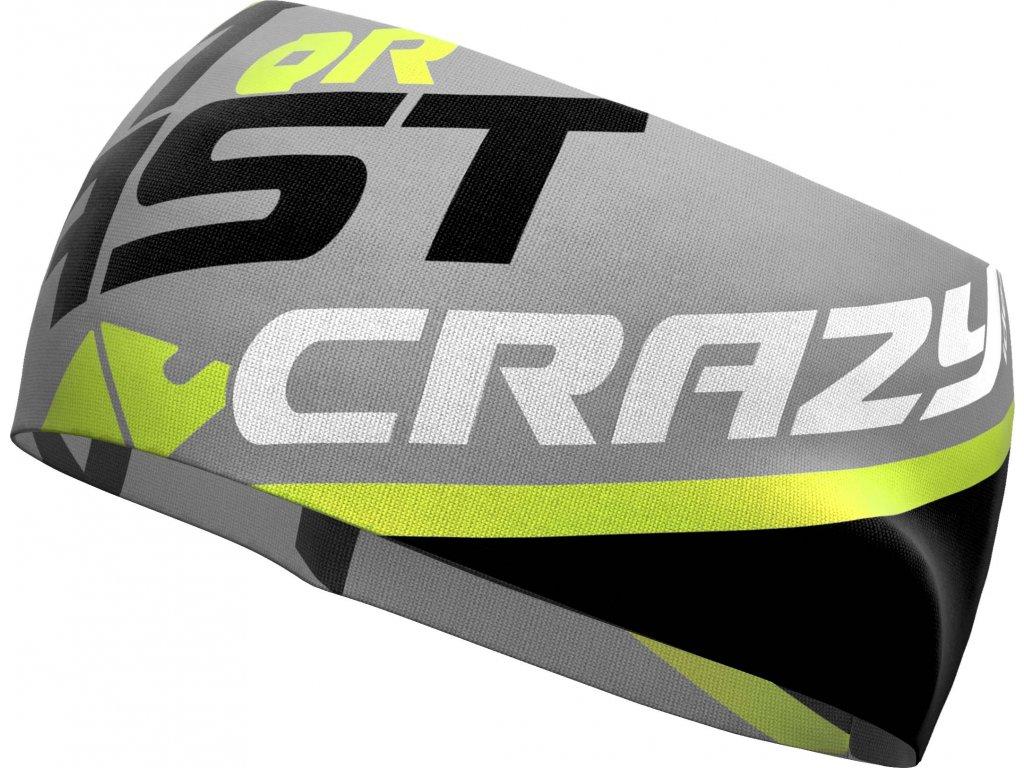 S19126031X 00 Crazy Band Sharp Cut X020 Black Gray Green Fluo