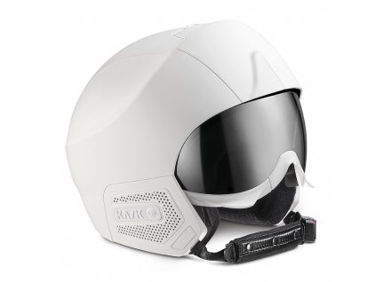 KASK SHE00054.808 STEALTH AUDIO WHITE MATT