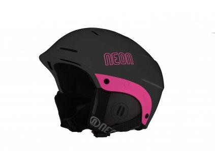 casco king black pink