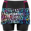 S20045013D 00 Skort Lightning Woman X029 P L Black