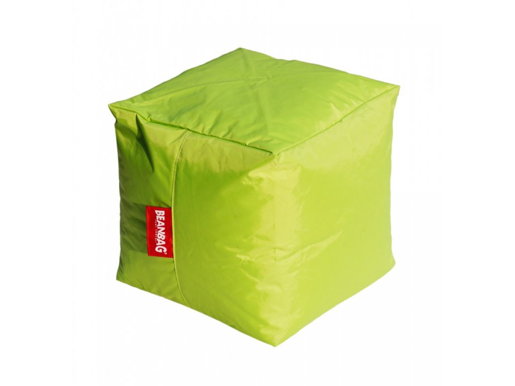 14584 2 sedaci vak kostka cube limetkova