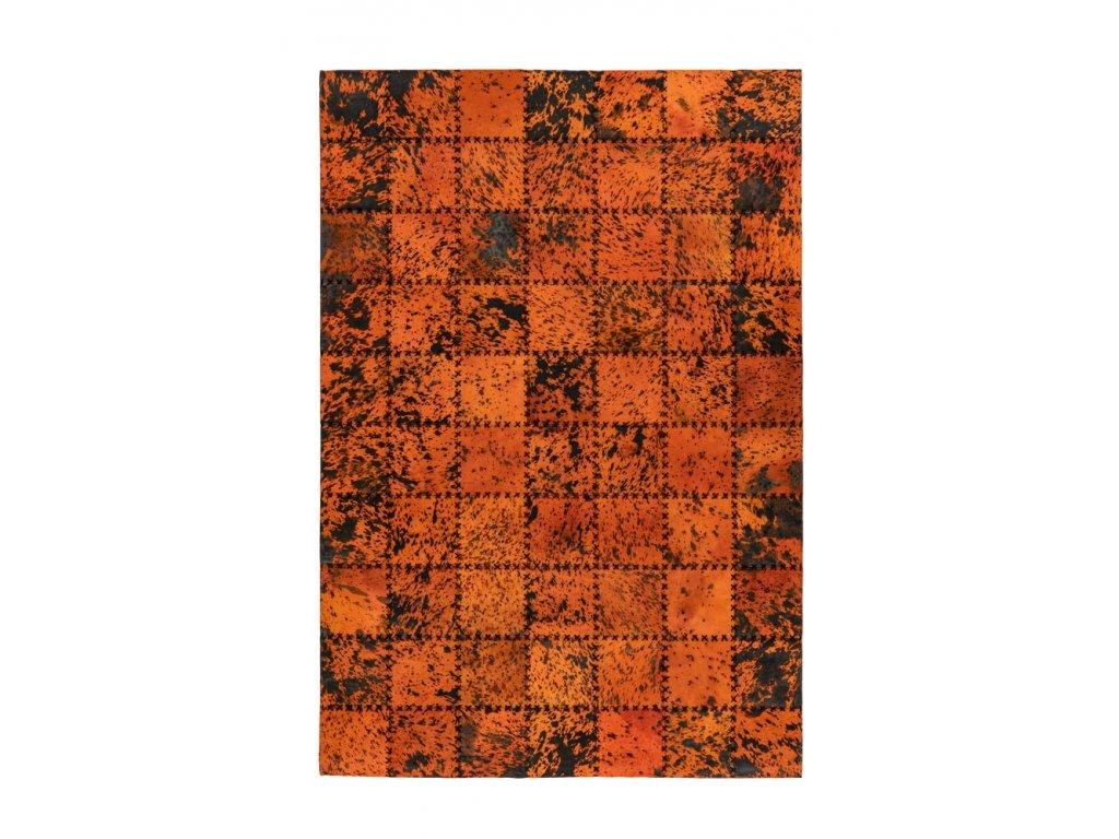 Kusový koberec Voila 100 oranžová  Kusový koberec