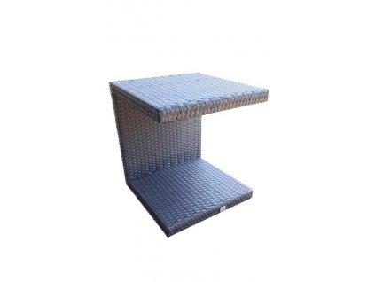 13702 3 odkladaci stolek table u tmave hneda mensi
