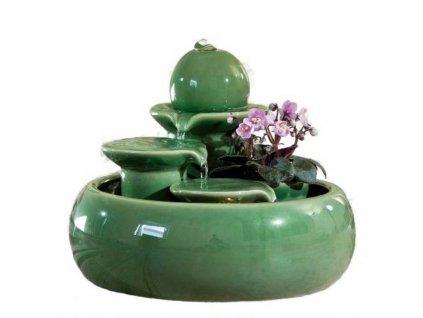14011 4 keramicka fontanka trentino zelena