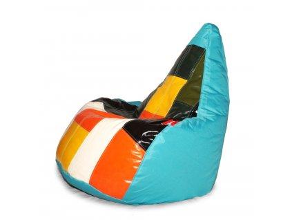 14494 3 sedaci vak colorful svetle modra