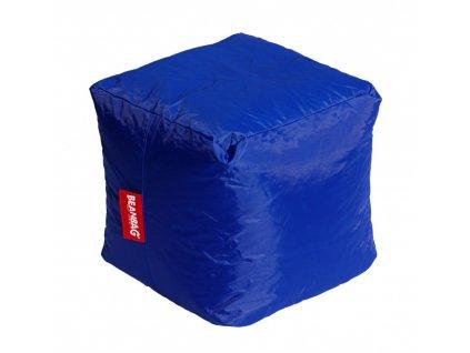 14593 2 sedaci vak kostka cube tmave modra