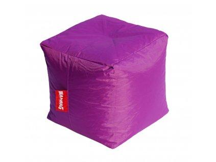 14608 2 sedaci vak kostka cube fialova