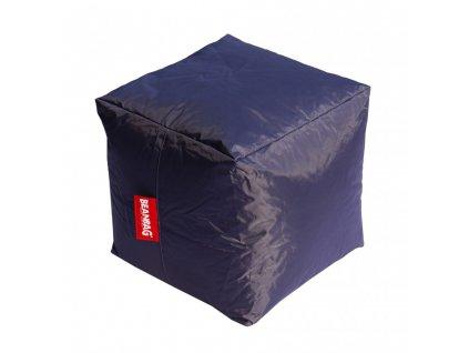 14614 2 sedaci vak kostka cube tmave seda
