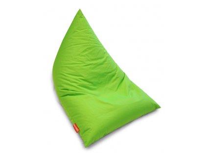 14677 5 sedaci vak triangle svetle zelena