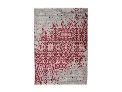 Kusový koberec Baroque 200 červená  Kusový koberec