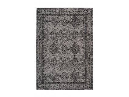 Kusový koberec Iglesia 300 šedá / černá  Kusový koberec