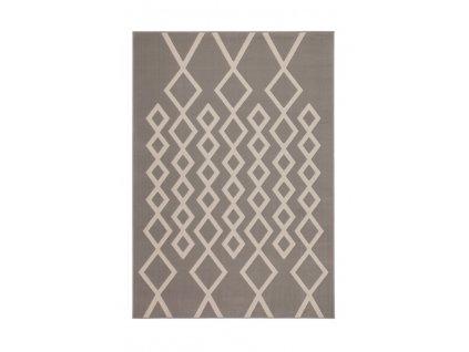 Kusový koberec Lina 400 Taupe / slonová kost  Kusový koberec