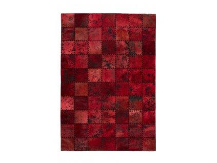 Kusový koberec Voila 100 červená  Kusový koberec