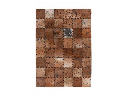 Kusový koberec Voila 100 hnědá  Kusový koberec