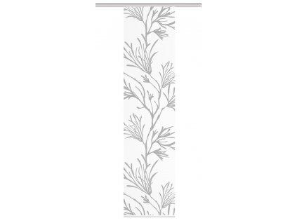 """Panelová záclona bambusového vzhledu """"Corali"""", Šedá"""