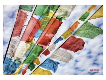 5974 7 fototapeta komar prayer flags 1 606