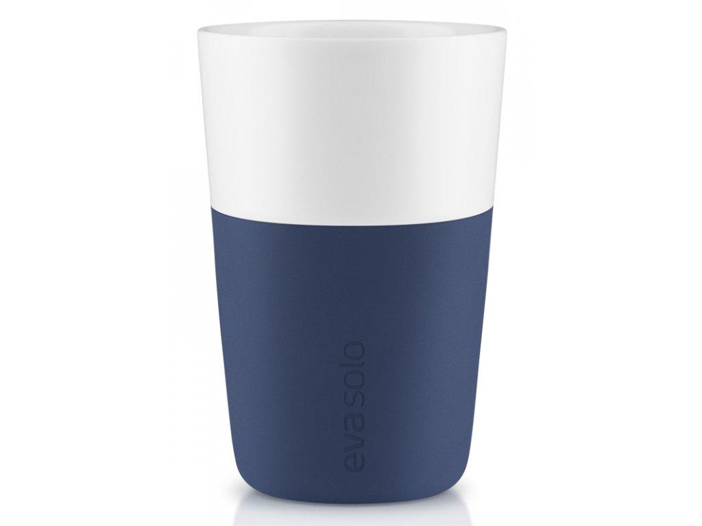 14763 hrnky na cafe latte nam modre 360ml set 2ks eva solo