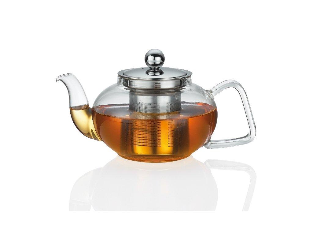 Ceainic TIBET cu volumul de la 0,4 L, sticlă/inox - Küchenprofi (Objem 1,5 l)