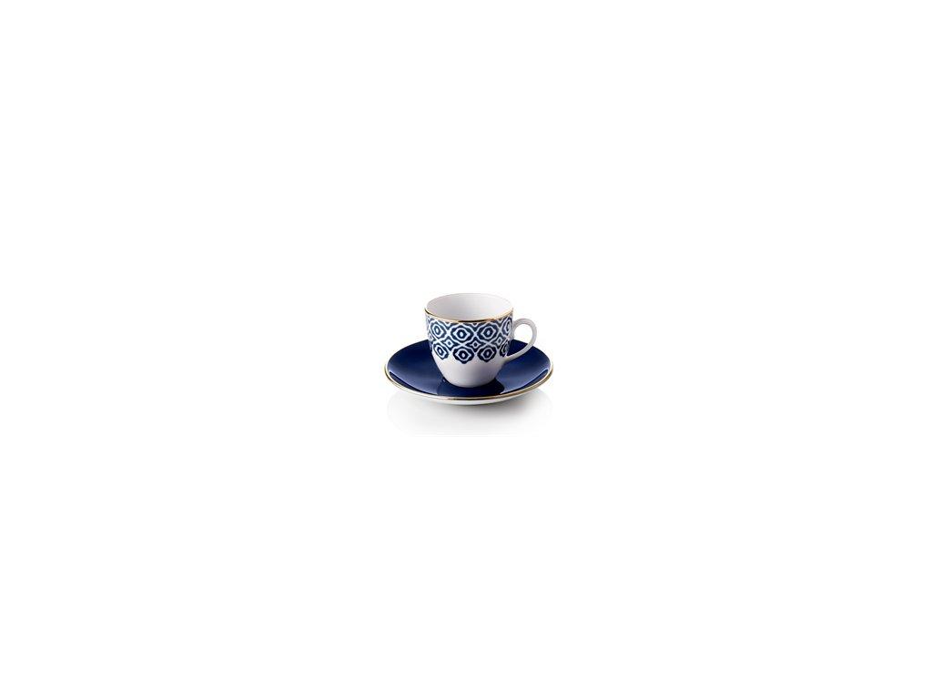 turkish coffee cups selamlique bleu white