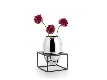 41519 vaza s ocelovym stojanem solero vel l