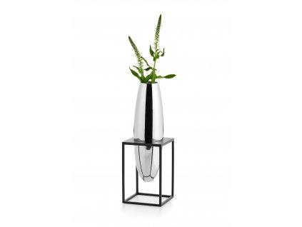 41516 vaza s ocelovym stojanem solero vel s