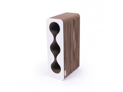 Kartoons Cardboard wine rack mini white 1500x1500px