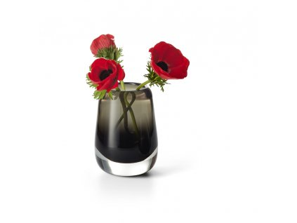 166013 Emma Mundgeblasen Vase Blumenvase Glasvase glaskunst