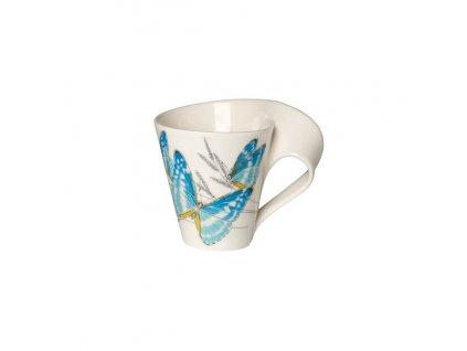 Hrnek s motivem tropického motýla, 0.3 l, kolekce NewWave Caffé Villeroy & Boch 1