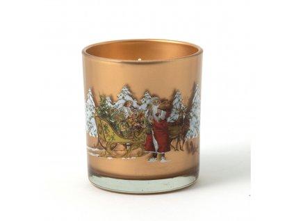 Svíčka s motivem sáněk, kolekce Winter Specials Villeroy & Boch 1