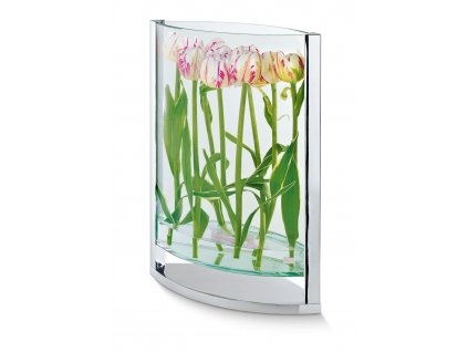 Vază de sticlă Decade 2 mărimi - Philippi (Rozměry 35 cm)