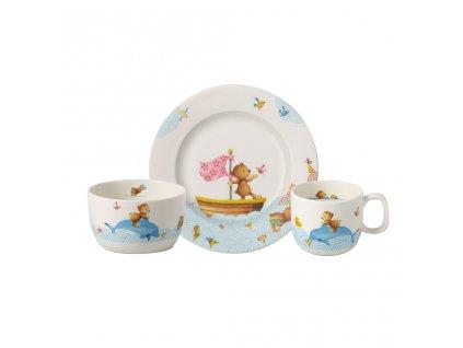 39974 detska sada 3ks kolekce happy as a bear villeroy boch