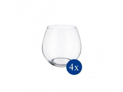39707 sklenice na vodu set 4ks kolekce entree villeroy boch