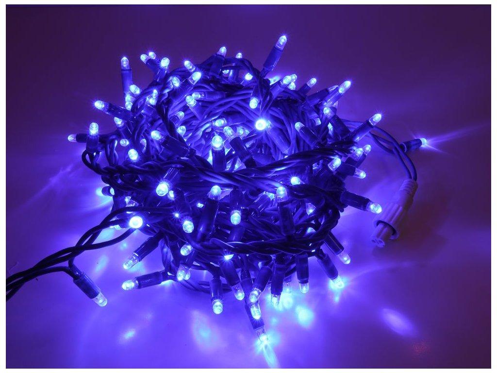 svetelna retaz modra