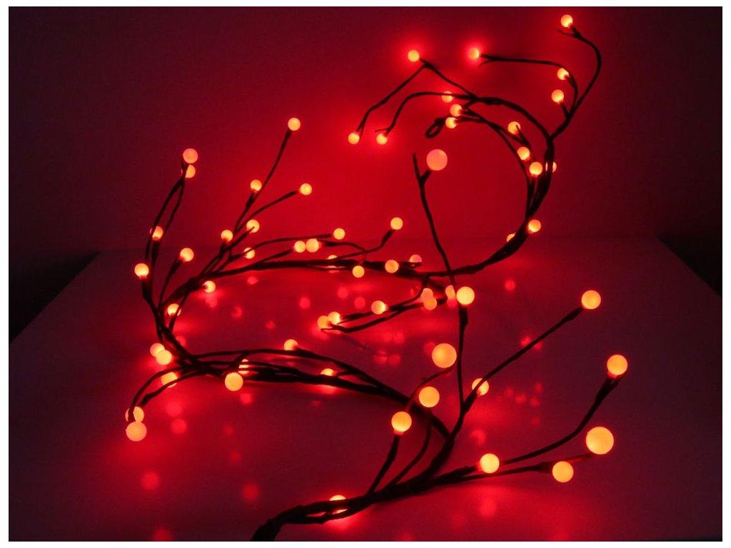 vianocna svietiaca vetvicka cervena