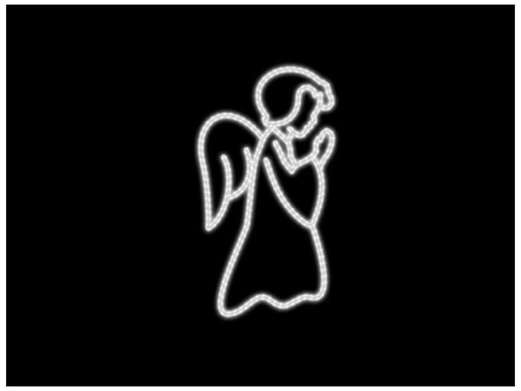 anjel led dekor