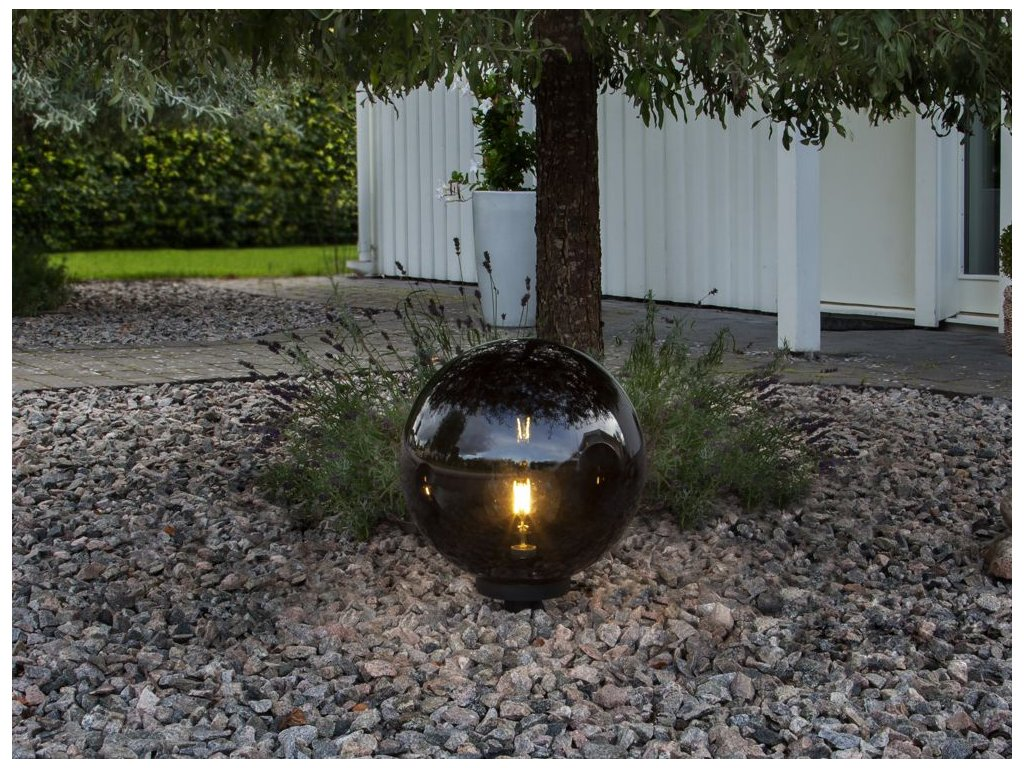 zahradne svietidlo orby 20cm b c