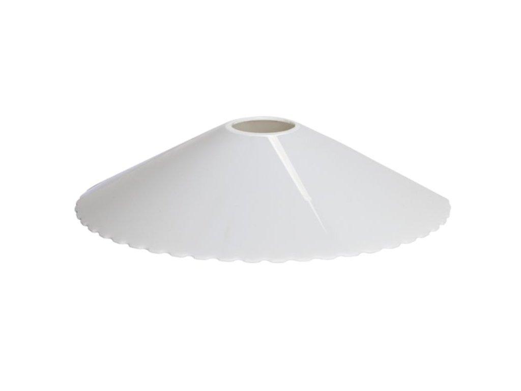 biele plastove tienidlo f