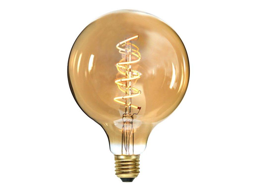 ziarovka spiral led filament e27 2100k 155lm gula 354 42 2 a