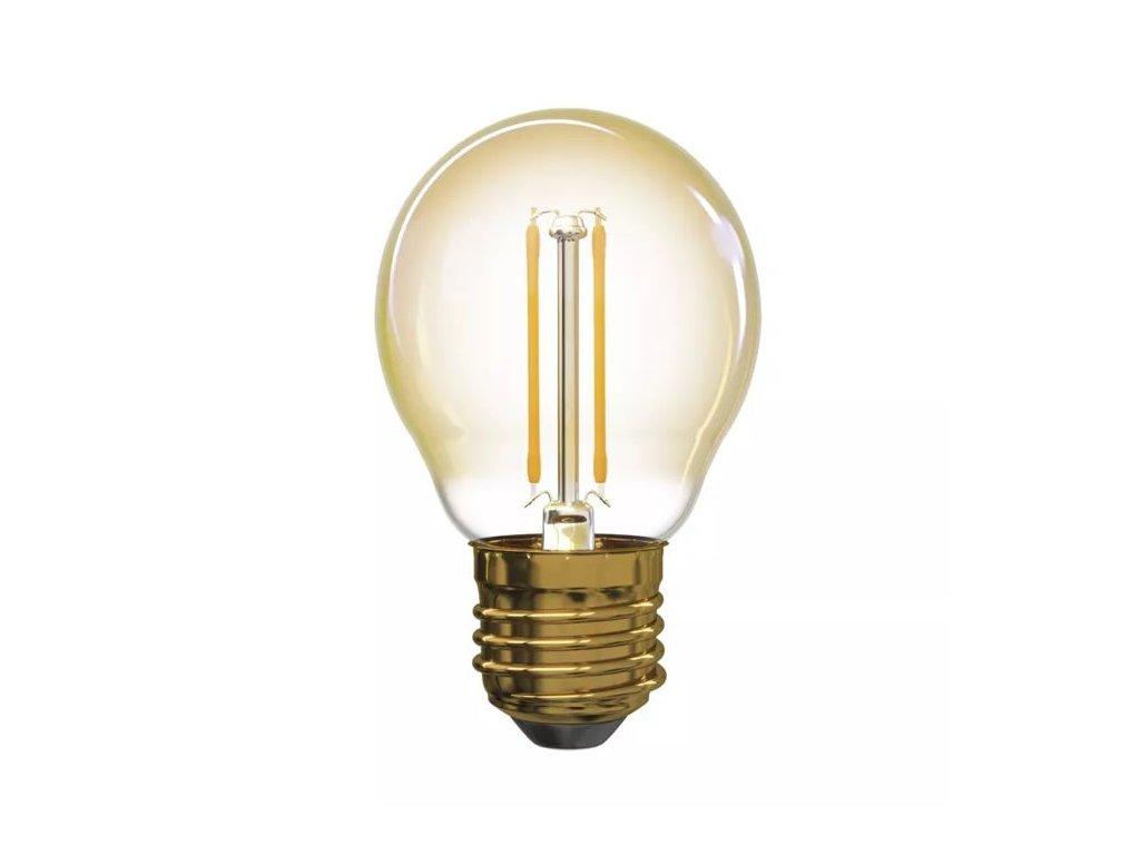 led filament ziarovka 2w 170lm 2200k g45 b