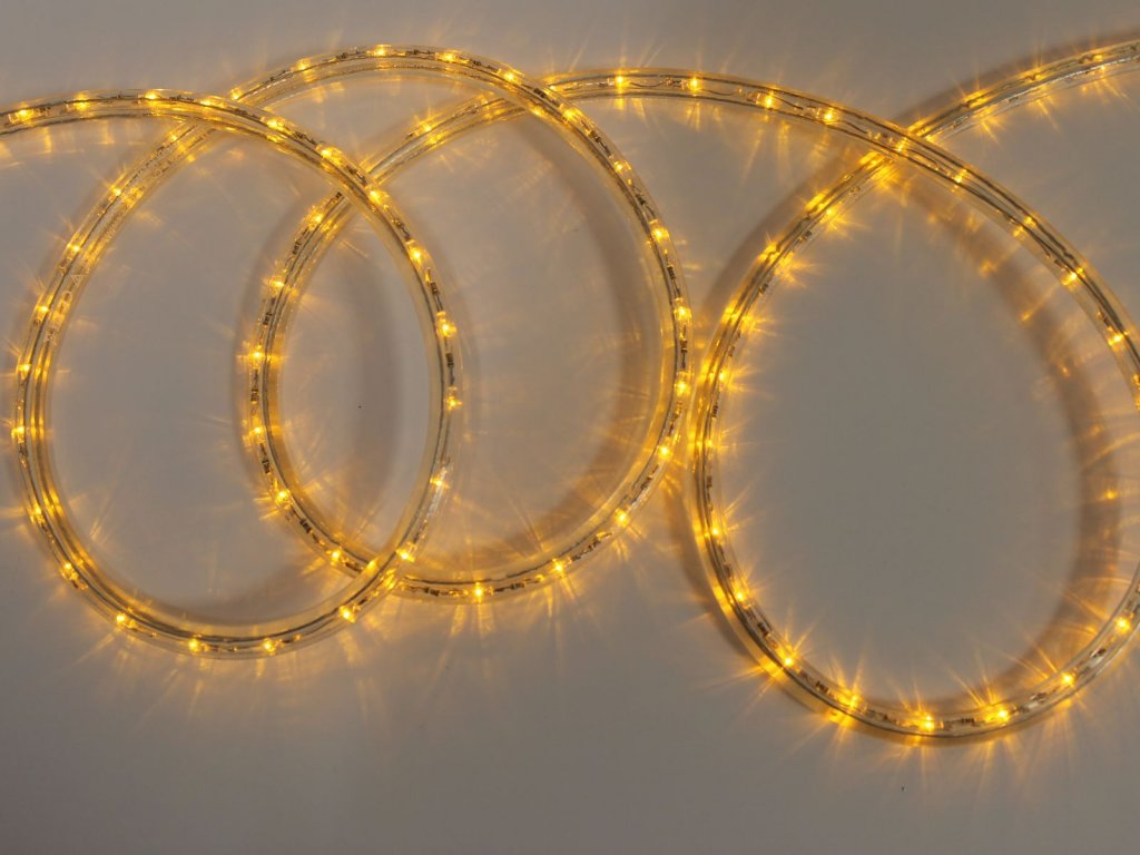 Oranzova LED trubica 36 LED 1m had