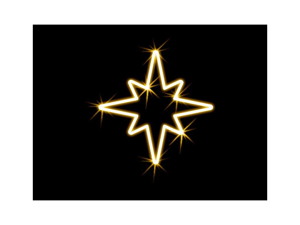 hviezda motiv na stlp