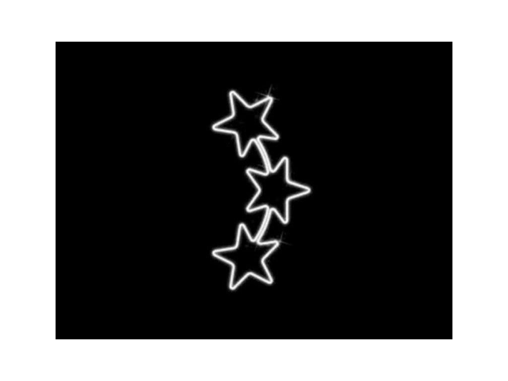 motiv tri hviezdy