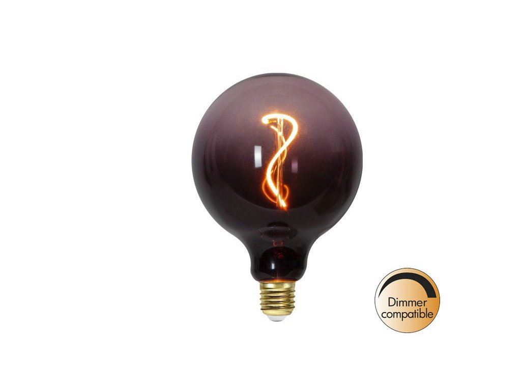 dizajnova led ziarovka color mix e27 filament 1800k 60lm 4w 366 51