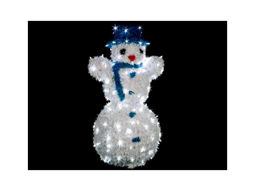 LED snehuliak 85cm vyplet