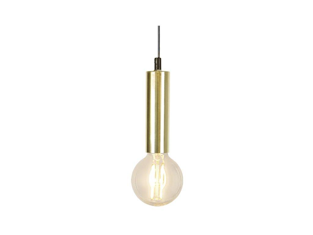 Závesné svietidlo s objímkou E27 3,5m GLANS gold