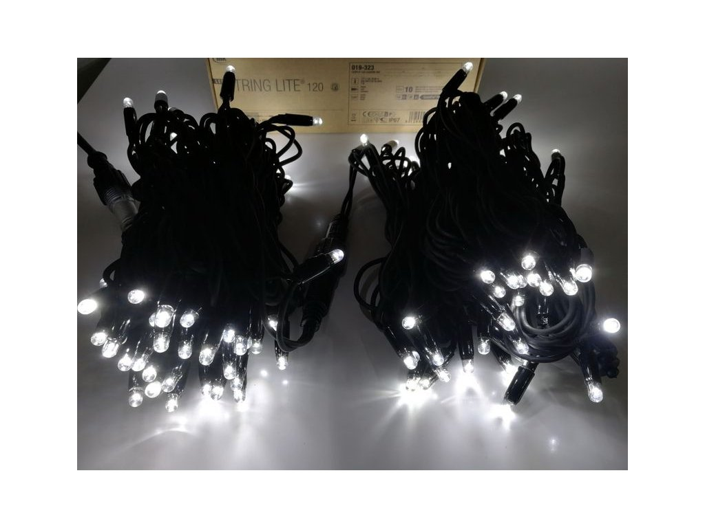 20m 120led string lite white