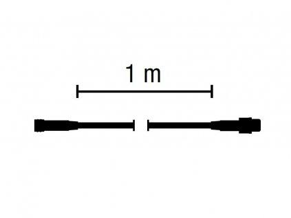 PREMIUM predlžovací kábel 1m QF+