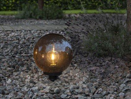 zahradne svietidlo gula orby 20cm b
