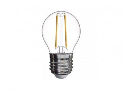 led filament ziarovka 2w 250lm 2700k g45 b