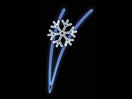 LED dekor vlocka